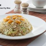 Yam fried rice