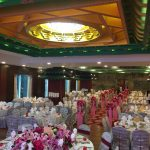 Chinese restaurant wedding decoration