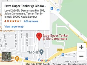 Extra Super Tanker Glo Damansara Map