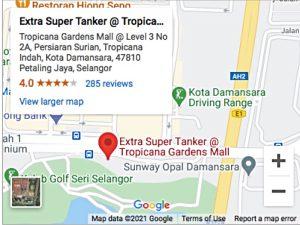 Extra Super Tanker Tropicana Gardens Mall