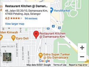 Restaurant Kitchen Damansara Kim