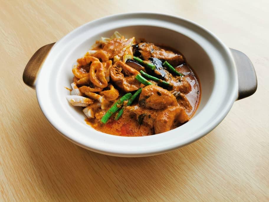 Claypot Curry Squid