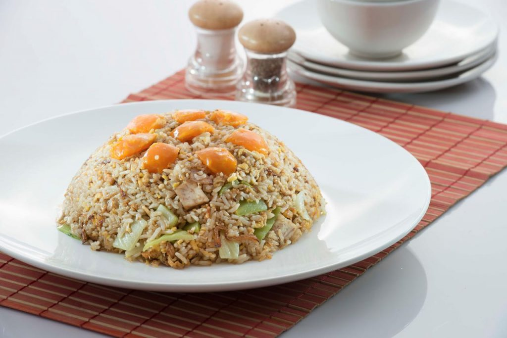 Special Yam Fried Rice