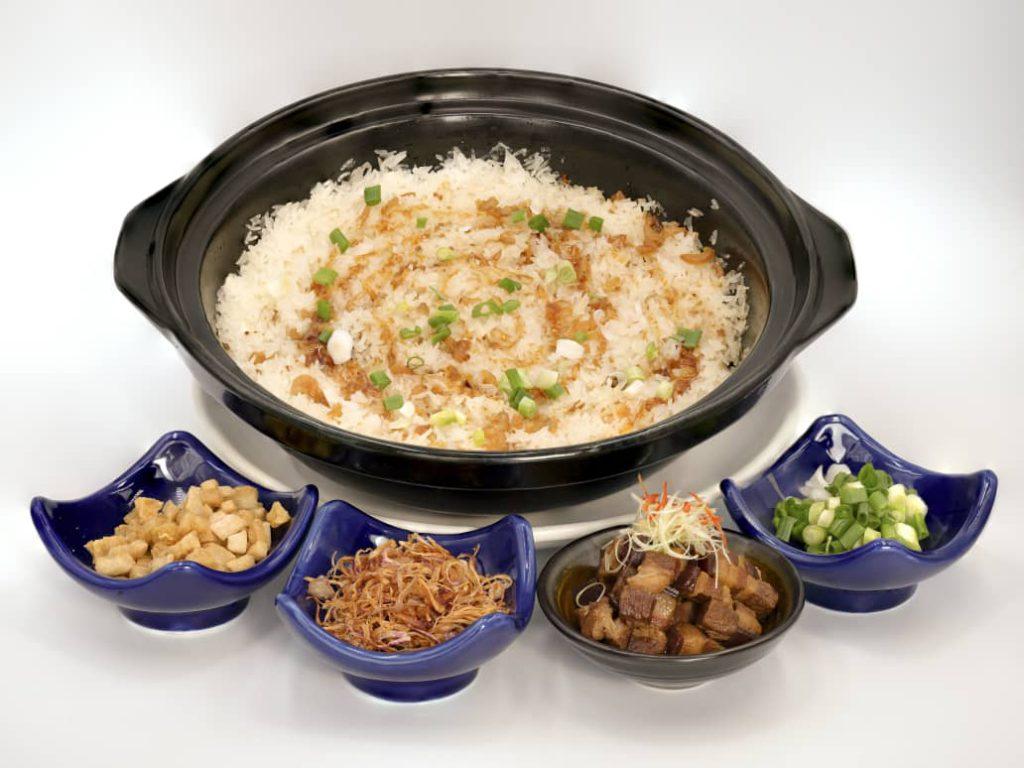 Claypot Rice with Pork Belly