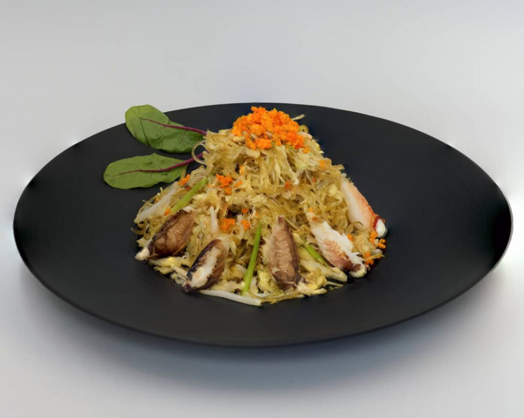 Stir Fried Vermicelli with Crab Meat